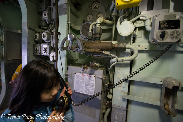 On the phone USS Albacore